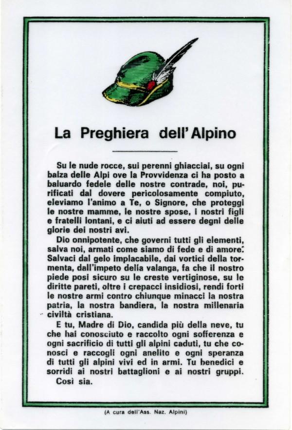 La storia della Preghiera dell Alpino 94d3f0692bc8